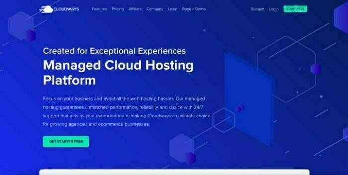 cloudways snelle wordpress hosting